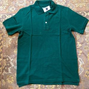 GAP forest green Polo